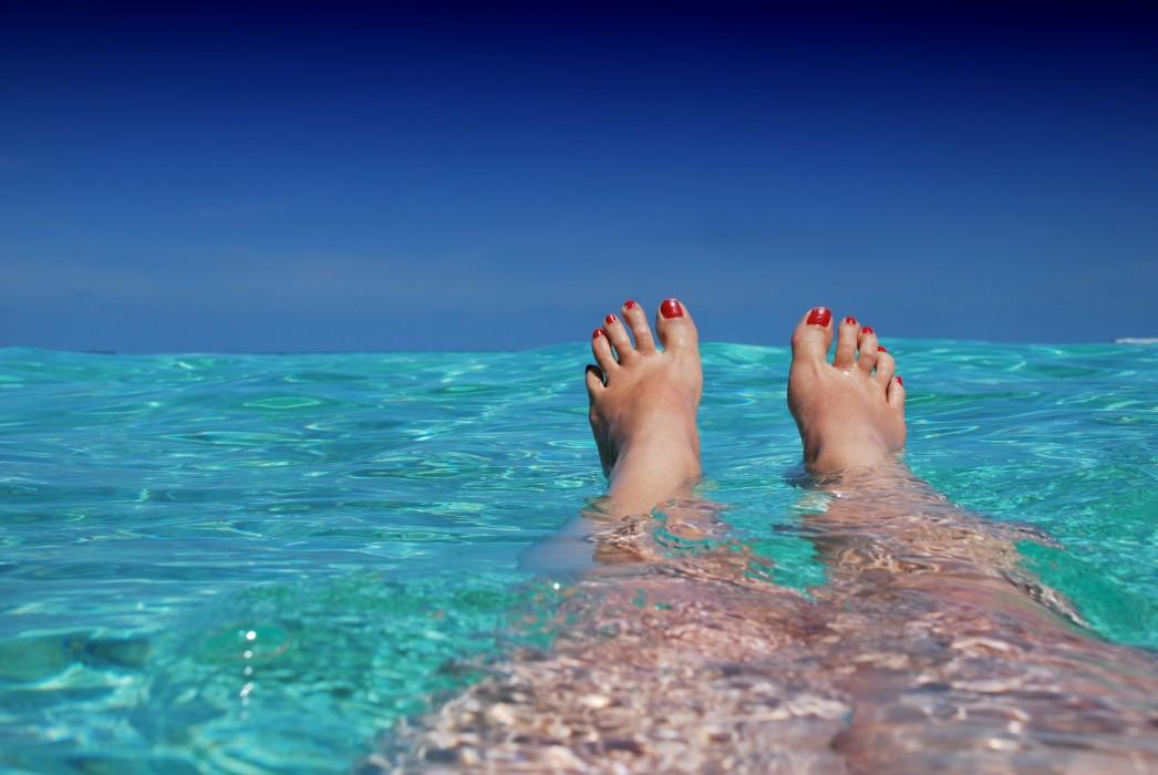 Cuidar los dedos de los pies